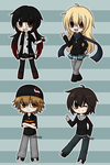 Chibis pendejos by Mr-Lucy