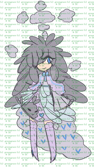 (OPEN) Cloud Girl by GreengrassAdopts