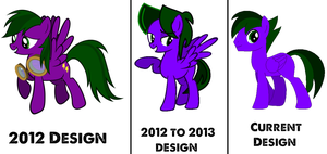 Lightning Rocker's design comparisons #3 by LR-Studios