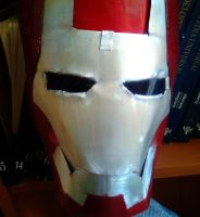 iron man mask by TheWallProducciones