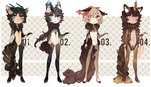 [set price] 01-04 (3 still open!) by mintcrunch