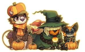 Pumpkin party by dexikon