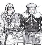 Ezio x Leo' by NienorGreenfield