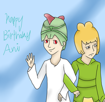 Happy Birthday Aniiiiii by Ginseng-Cielo