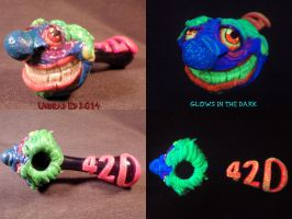 420 Wrecked Pipe By Undead Ed glows in the dark 2 by Undead-Art