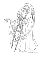Robe of the Hortator concept by Tensa-chan