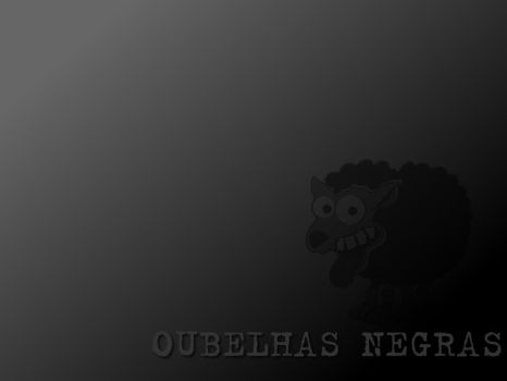 Wallpaper Black Sheep by OubelhaNegra