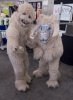 Wampa and Tauntaun by MonstrositiesNZ