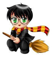 Harry Potter Chibi by ExoroDesigns