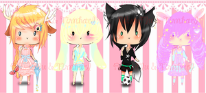 Kawaii Adoptables Auction (Open) Points + Paypal by RitsuFlu