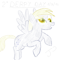 Derpy Hooves - Derpy Day 2012 by Jhyrachy