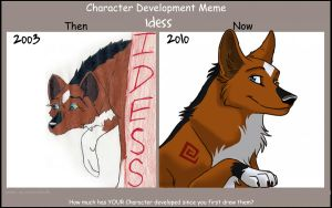 Character Development Meme by Idess