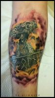 Thor hammer healed by grimmy3d