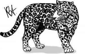 FREE Leopard LineartCOLORED by Animal-Talents