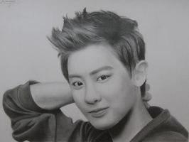 Chanyeol by Art-Ablaze