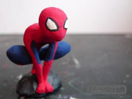 Geeky Mood : Spiderman Close Up by Ft-ArtCraft