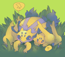 Requests: Galvantula and Joltik by boblitt