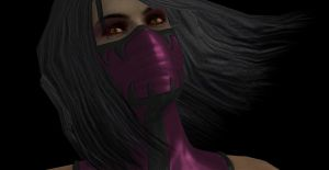 Mileena: Looking Up by LinksTRUEGirlfriend