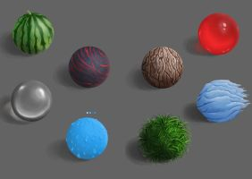 Material study by LadyMave