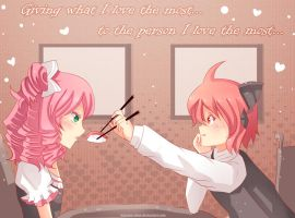 -- Happy Valentine's Day -- by Kurama-chan