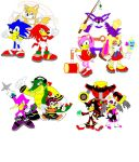 Sonic Heroes by AleximusPrime