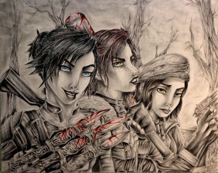 The would-be deadly trio, Fallout 4 by ANiMExFReaKx115