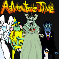 Adventure Time Lordi by fallenjrblue