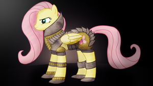 MLP - Fluttershy With Armour by ossie7