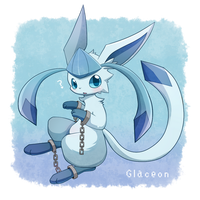 Glaceon - HaeleeH by Naru-pika