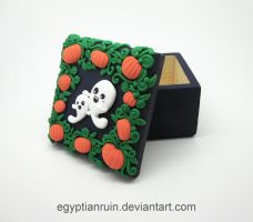 Halloween Ghost Family Decorative Box by egyptianruin