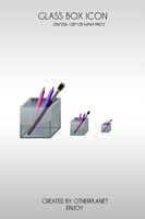 Glass Box icon by OtherPlanet