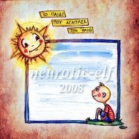 the boy who loved the sun.. by neurotic-elf