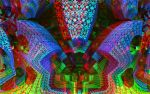 Mystic Abstraction Anaglyph by skyzyk