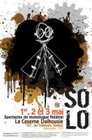 Solo -affiche de theatre- by blackattack