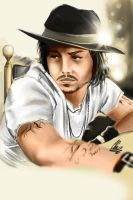 Johnny Depp by RazerChris