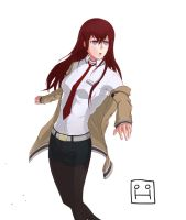 Kurisu Makise by Huksly