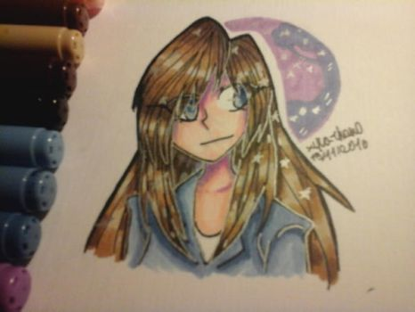 Anine Girl drawing by Xyla-Chan0