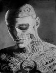 Rick Genest 2 by GeeFreak