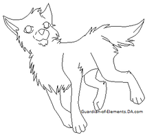 Free PUP Lineart by Guardian-of-Elements