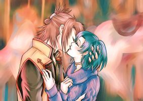[Hakuouki/Sailor Moon] Lurrrve is in the air by Nayru-chan