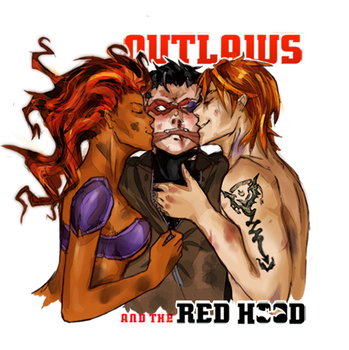 Outlaws and the Red Hood by Doragon12