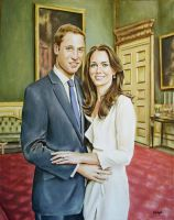 William and Kate by andylloyd