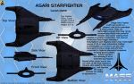 Asari Fighter Lucen class Overview by Euderion