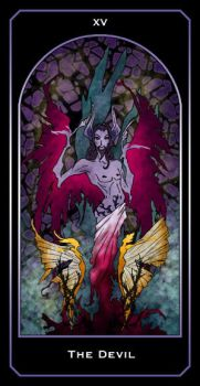 the Devil - Lepidopteran Deck by blue-fusion