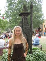 Xena at the Renaissance Faire by ThreeRingCinema