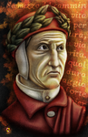 Dante Alighieri, Colored by LieutenantHawk