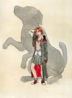 Ronni Weasley by Kitty-Grimm