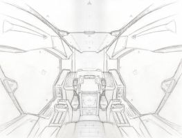 Cockpit Sketch by NEMESIS-01