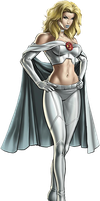 Emma Frost Marvel's Avenger's Alliance Render by American-Paladin