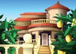 Spanish Villa Gift by tifachan